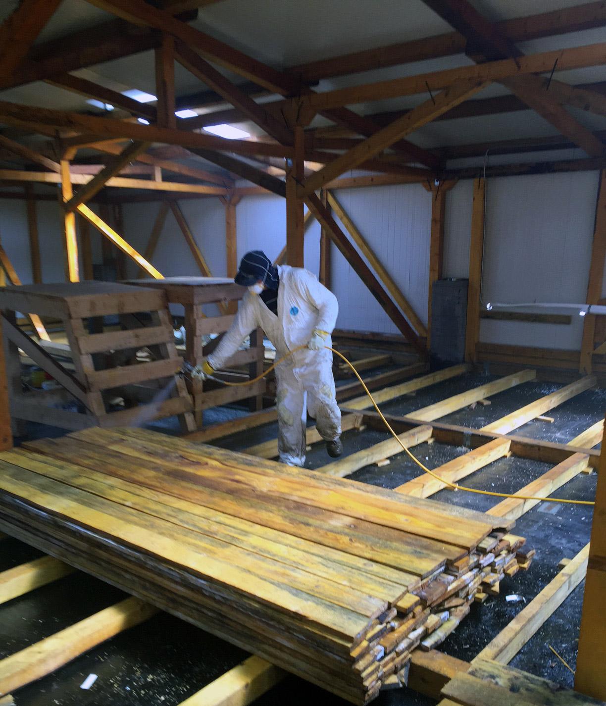 ignifugare lemn bucuresti